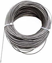 TOPBATHY Cable para tendedero de 304 Acero