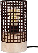 Tosel 65559lámpara de mesa, 1luz, madera,