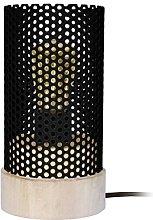 Tosel 65567lámpara de mesa, 1luz, madera,