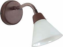 Tosel 70073 Flex - Foco de pared (acero, 50 W, G9)