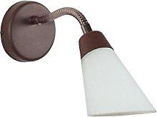 Tosel 70074 Flex - Foco de pared (acero, 50 W, G9,