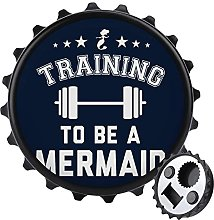 Training to Be A Mermaid - Abrebotellas con imán
