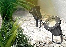 Trango 1 llama IP65 LED foco de jardín, luz