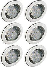 Trango 6er Conjunto de focos empotrables LED