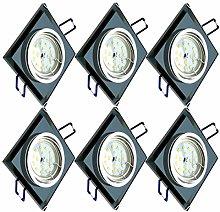 Trango 6er Set de diseño regulable Foco