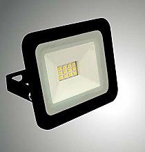 Trango Foco LED de 10 W, 12 V – 24 V, 3000 K,