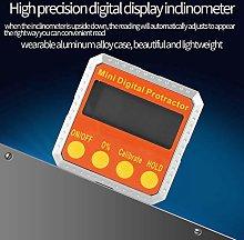 Transportador digital de indicador de ángulo de