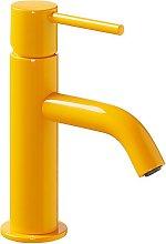 TRES - Grifo de lavabo Amarillo S TRES STUDY