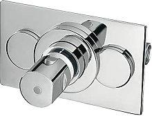 TRES - Grifo termostático empotrado ducha Compact