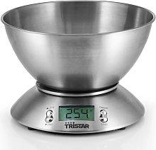 Tristar Balanza de cocina  + recipiente de