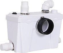 Triturador sanitario de agua residual HOMCOM
