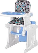 Trona para bebés azul HomCom