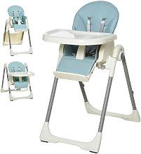 Trona para bebés evolutiva azul HomCom