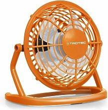 Trotec Ventilador color naranja Pumpkin Orange USB