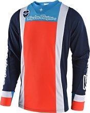 Troy Lee Designs SE Squadra Jersey, azul-naranja, S
