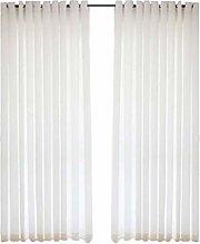 TTJJ Blanco Tul Cortina, Suave Translúcido