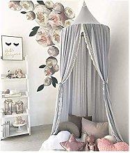 TTOOY Cama Redonda para bebé, mosquitera,