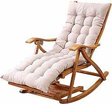 Tumbona aire libre silla de bambú plegable de