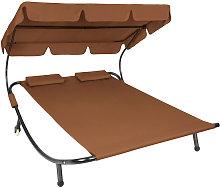 Tumbona doble - hamaca para dos personas, mueble