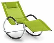 Tumbona mecedora Westwood Rocking Chair verde -