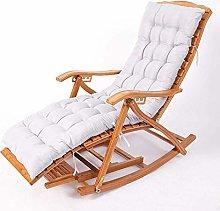 Tumbona Pesado de bambú plegable reclinable