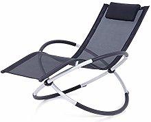 Tumbona plegable mecedora creativa silla de