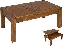 Tuttambi - Mesa de centro elevable Ohio, madera