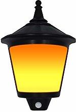 TYXQ Luz De Llama Solar Al Aire Libre 87 LED Luz