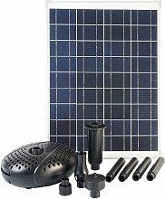 Ubbink Conjunto SolarMax 2500 con panel solar y