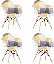 Uderkiny Conjunto de 2/4 sillas de Comedor