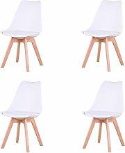 Uderkiny Conjunto de 4/6 sillas Sillas de Comedor