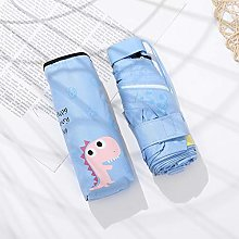 UKKD sombrilla Paraguas Plegable para Mujer