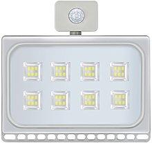 Ultra-delgado sensor de luces Foco Led Exterior