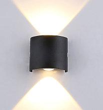 Una lampara de pared LED C85-265V, foco blanco