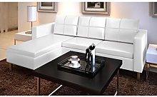 UnfadeMemory Sofá de 3 Plazas con Chaise