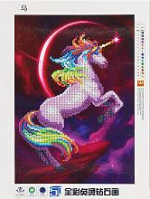 Unicornio diamante pintura arte de la pared 5D