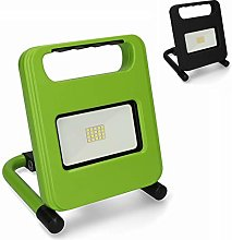 Unitec Foco LED con batería, 700 lúmenes, verde