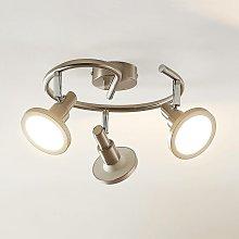 Unnur foco LED, 3 luces - Lindby