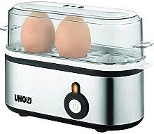 Unold 38610 cuecehuevos 3 huevos 210 W Acero