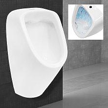Urinario con entrada superior desagüe en parte