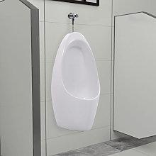 Urinario de pared con sistema de descarga