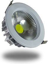 V-tac - DownLight LED COB 18W 182mm 4500K Luz