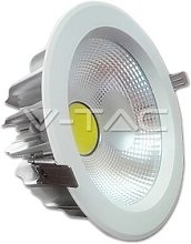 V-tac - DownLight LED COB 30W 220mm 4500K Luz