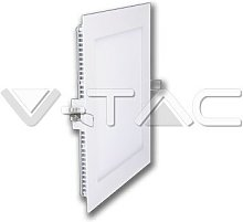 V-tac - DownLight LED Empotrar Cuadrado 15W 178mm