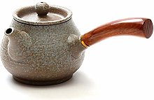 Vajilla negra Tetera de cerámica Tetera Pot