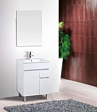 VAROBATH Conjunto de Mueble de baño de 2 Puertas