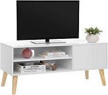 VASAGLE Armario Rústico para TV, Mesa para TV,