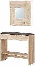 Velocimuebles - Conjunto mueble recibidor cajón