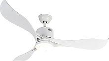 Ventilador de techo blanco LED mando-distancia -