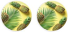 Verano amarillo fruta tripical piña abridor de